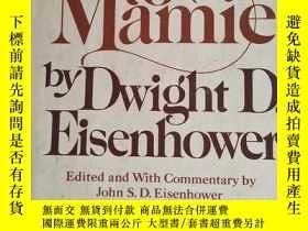 二手書博民逛書店Letters罕見to Mamie(精裝 毛邊本)Y1627 D