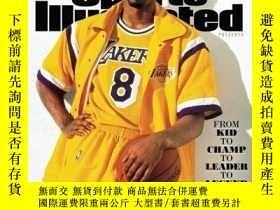 二手書博民逛書店體育畫報科比專刊Sports罕見Illustrated Kobe