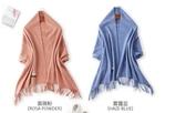 純色羊羔絨羊毛圍巾
