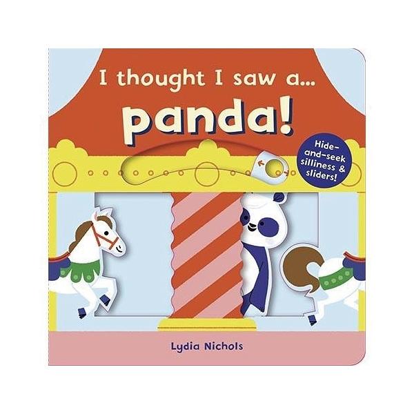 I Thought I Saw A...Panda! 熊貓玩捉迷藏 硬頁操作書