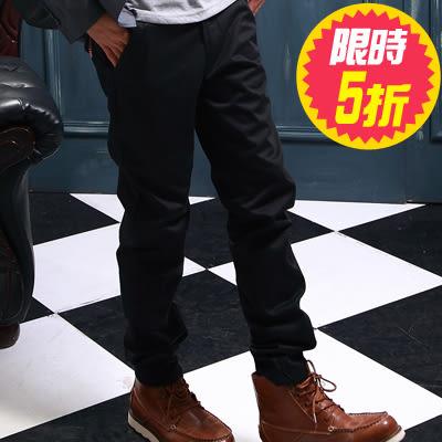 雅痞風剪接格紋可反摺斜紋休閒長褲(共二色) 樂活衣庫【P328】