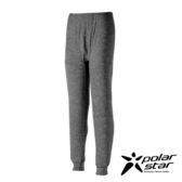 PolarStar 男 遠紅外線排汗保暖長褲 (吸濕快乾│膠原蛋白│台灣素材│抗靜電)『黑』P17431 機能褲