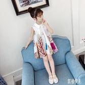 漢服夏裝女童連身裙2019新款國民風旗袍兒童小女孩韓版超洋氣公主裙子 PA6179『紅袖伊人』