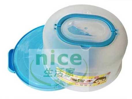 【三箭牌】手提蛋糕盒(小) K-2080~藍色《烘培器具(材)》