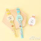 日貨角落生物矽膠兒童電子錶 全身型- Norns 日本進口手錶 童錶 白熊 假蜥蜴恐龍 貓咪