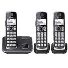 Panasonic 國際牌 KX-TGE613 無線電話 三話機 大按鍵