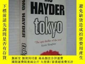 二手書博民逛書店Tokyo罕見英文原版Y146810 MO HAYDER Ban
