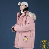 棉衣棉服外套冬季棉襖女士羽絨中長款加厚加絨學生【雲木雜貨】