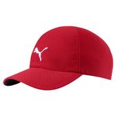 Puma 紅色 運動帽 老帽 遮陽帽 透氣 排汗 運動 六分割帽 棒球帽 運動帽 02174903