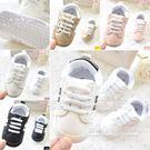 男女寶寶鞋子嬰兒透氣網布軟底防滑學步鞋0...