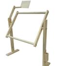 家用可調刺繡花架 床上繡十字繡架子 台式通用繡架大號蘇繡框支架ATF 三角衣櫃