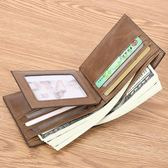 皮夾新款男士錢包男短款真皮頭層牛皮駕駛證卡包青年男式皮夾錢夾   艾維朵