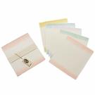 泰和宣 手染和紙系列 BC-1392 手工5色和紙大卡 5張 / 包