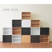 【預購-預計2/2出貨】【Hopma】日式二層櫃/收納櫃(無門有隔層)-黃木紋