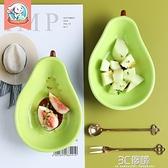 兒童異形水果盤子創意可愛小碟子家用果盤陶瓷早餐盤網紅ins餐具 3C