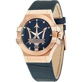 【人文行旅】MASERATI WATCH | 瑪莎拉蒂手錶/2017經典深藍款/R8851108027