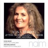 經典數位~伊歐娜布朗(指揮) & 挪威室內樂團 - 舒伯特:第五號交響曲、孟德爾頌:第四號交響曲