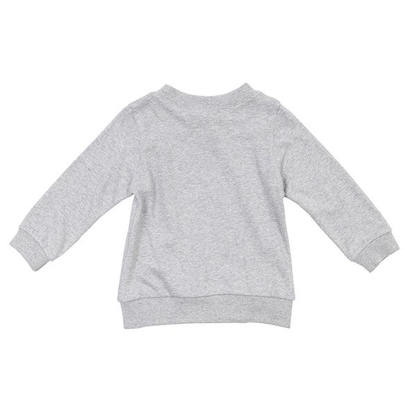 【愛的世界】純棉圓領小狐狸薄長袖上衣/1~2歲-台灣製- ---秋冬上著