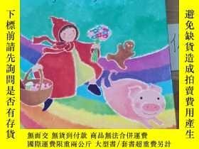 二手書博民逛書店The罕見Rainbow Book of Nursery TalesY246207
