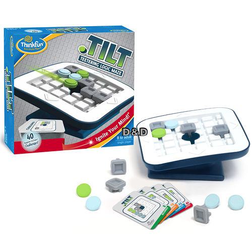 《 美國 Think Fun 》一推進洞 Tilt ╭★ JOYBUS玩具百貨