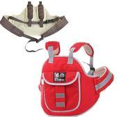 電動車兒童安全帶踏板摩托車電瓶車小孩寶寶座椅綁帶子保護背包款   可然精品鞋櫃