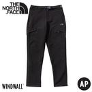 【The North Face 男 防潑水軟殼保暖長褲《黑》】4NAA/衝鋒褲/戶外休閒長褲/登山褲