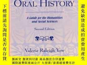 二手書博民逛書店Recording罕見Oral History-口述記錄Y436638 Valerie Raleigh Yow