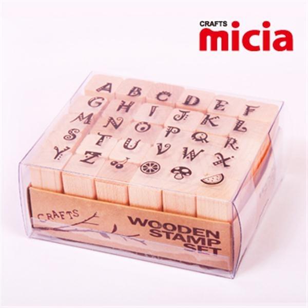 美日Micia/ALP17英文字母印章組(30入)