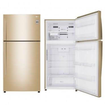 【LG樂金】496公升變頻雙門冰箱-光燦金 GN-BL497GV