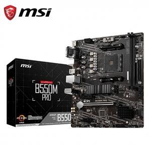 微星MSI B550M PRO AMD主機板