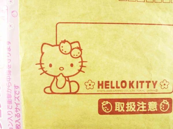 【震撼精品百貨】Hello Kitty 凱蒂貓~造型紙袋-草莓
