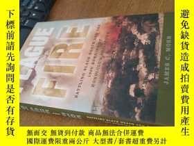 二手書博民逛書店PLAGUE罕見AND FIRE 英文原版瘟疫和火災,與黑死病和