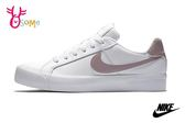 NIKE WMNS COURT ROYALE AC 成人女款 休閒板鞋 皮革 運動鞋 O7274#白粉◆OSOME奧森童鞋