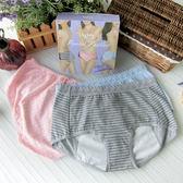 Audrey奧黛莉-自在女孩 生理褲三件組禮盒(綜合色)