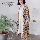 Queen Shop【02071135】圓點印花開襟罩衫*現+預*