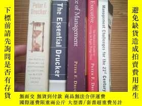 二手書博民逛書店the罕見effective executive & manag