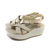 IMAC 涼鞋 義大利製 厚底 金色 女鞋 308220.16097.013 no038