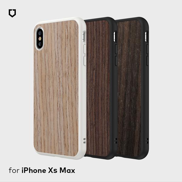 犀牛盾SolidSuit木紋防摔背蓋手機殼 - iPhone XS Max