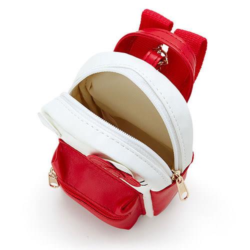 《Sanrio》三麗鷗人氣明星票選大賞系列PU皮革迷你背包造型掛鍊(KITTY)_218715