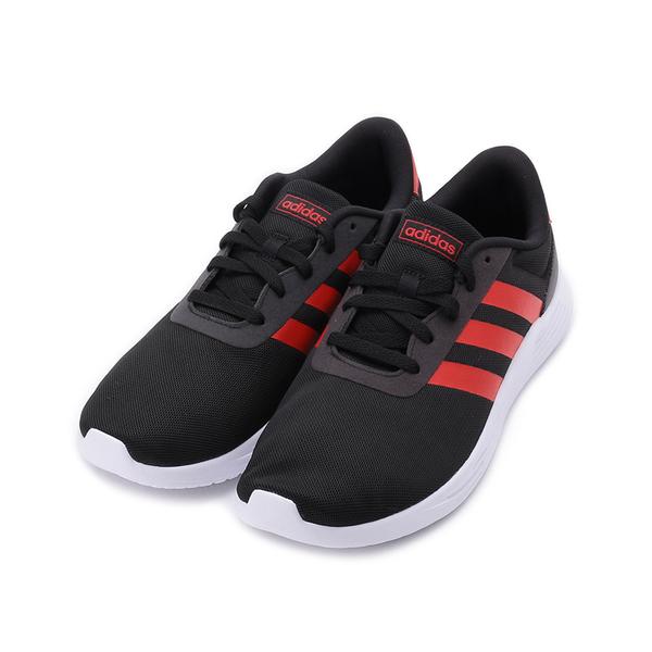 ADIDAS ADIDAS NEO LITE RACER 2.0輕量跑鞋 黑紅 FZ0391 男鞋