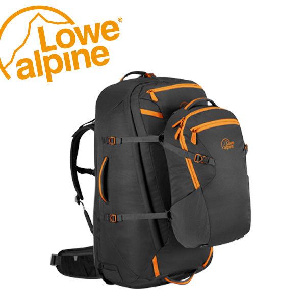 "Lowe Alpine AT Voyager ND65+15 (28"") 旅遊行李子母背包 煤碳黑 #FTR30"