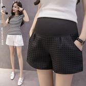 新款孕婦托腹褲外穿夏季天裝寬鬆打底褲時尚孕婦褲女安全短褲 免運費