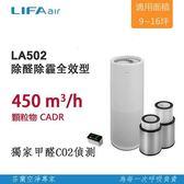 【超值2入組】LIFAair LA502 家用空氣清淨機 第二件半價