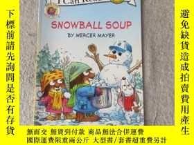 二手書博民逛書店Snowball罕見Soup (My First I Can R