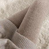日系復古針織麻花打底褲女薄款外穿豎條紋燕麥白連褲襪咖色踩腳襪 【全館免運】