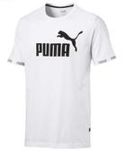 PUMA 男款短袖T恤 白-NO.85424202