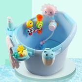兒童澡盆泡澡桶寶寶洗澡桶家用可坐兒童浴桶保溫浴盆 優樂居