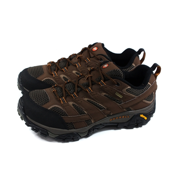 MERRELL MOAB 2 GTX 運動鞋 健行鞋 咖啡色 黃金大底 男鞋 ML06041W no136