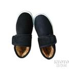 奶奶鞋中年人包跟加絨冬季居家棉鞋女防寒室內手工鞋外出  京都3C