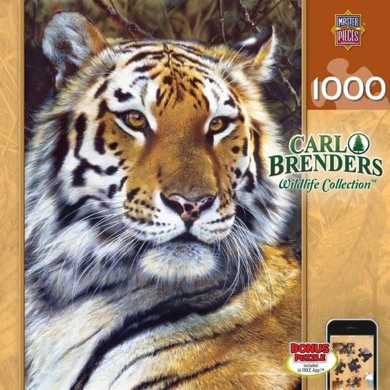 【KANGA GAMES】拼圖 野生動物系列 - 老虎 Wildlife Collection - Last Watch 1000片